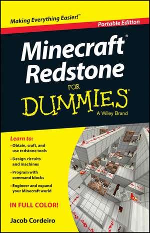 Minecraft Redstone For Dummies de Jacob Cordeiro