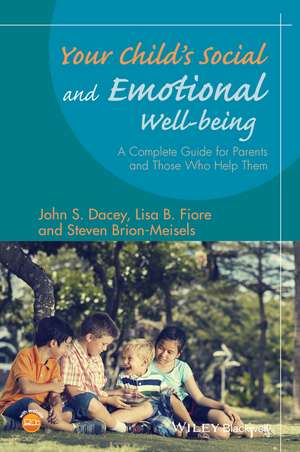 Your Child′s Social and Emotional Well–Being