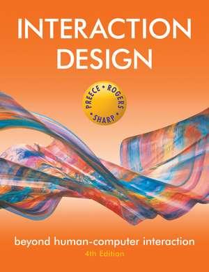 Interaction Design: Beyond Human–Computer Interaction de Jennifer Preece