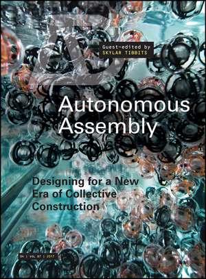Autonomous Assembly