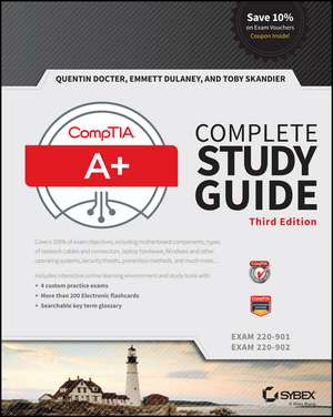CompTIA A+ Complete Study Guide: Exams 220–901 and 220–902 de Quentin Docter
