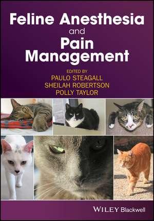 Feline Anesthesia and Pain Management imagine