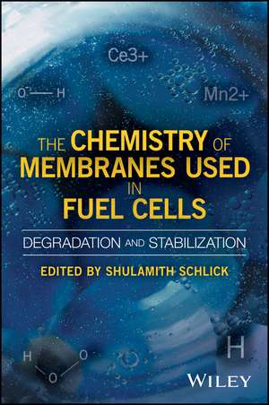 The Chemistry of Membranes Used in Fuel Cells: Degradation and Stabilization de Shulamith Schlick