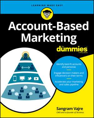 Account–Based Marketing For Dummies