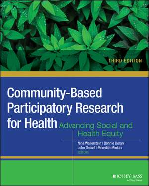 Community–Based Participatory Research for Health