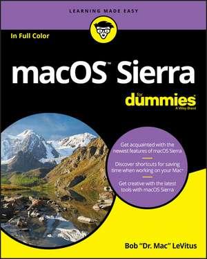 macOS Sierra For Dummies de Bob LeVitus