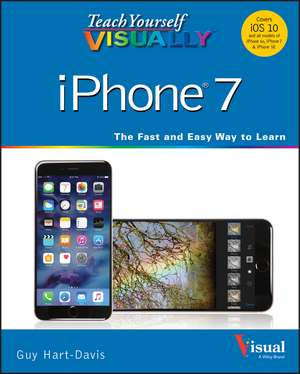 Teach Yourself VISUALLY iPhone 7