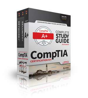 CompTIA Complete Study Guide 3 Book Set, Updated for New A+ Exams de Quentin Docter