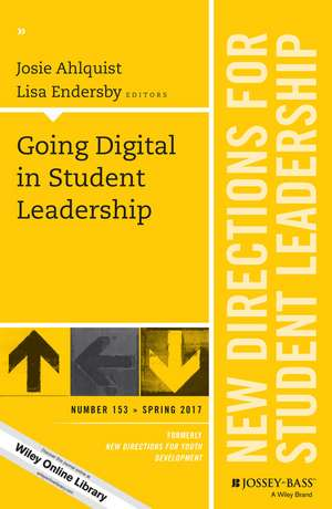 Going Digital in Student Leadership