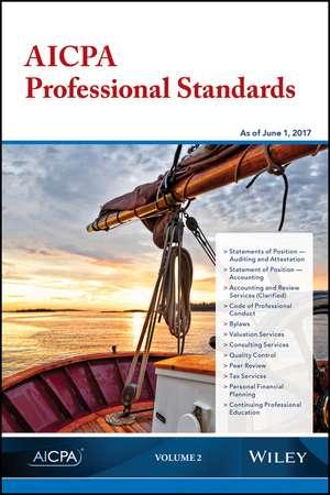 AICPA Professional Standards, 2017, Volume 2 de AICPA