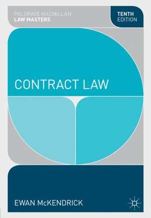 McKendrick, E: Contract Law