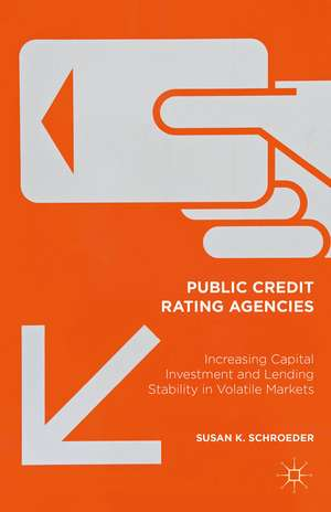 Public Credit Rating Agencies: Increasing Capital Investment and Lending Stability in Volatile Markets de Susan K Schroeder