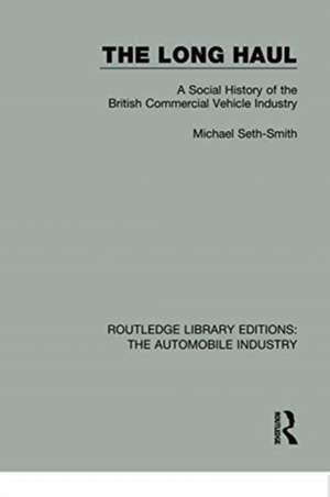 Long Haul de Michael Seth-Smith