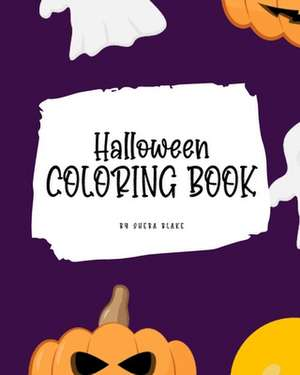 Halloween Coloring Book for Kids (8x10 Coloring Book / Activity Book) de Sheba Blake