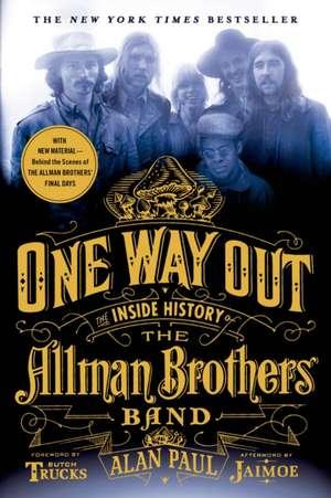 One Way Out de Alan Paul