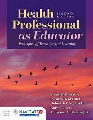 Health Professional As Educator de Karen Jacobs