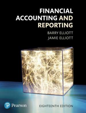 Financial Accounting and Reporting 18th Edition imagine