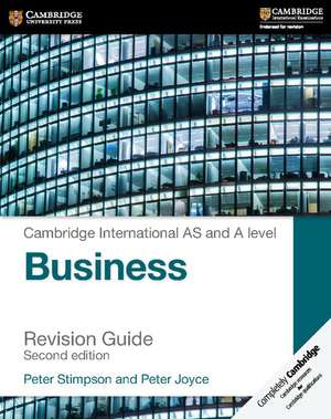 Cambridge International AS and A Level Business Revision Guide