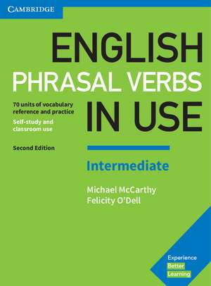 English Phrasal Verbs in Use Intermediate Book with Answers: Vocabulary Reference and Practice de Michael McCarthy