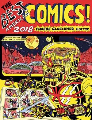 The Best American Comics 2018 de Phoebe Gloeckner