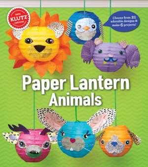 Paper Lantern Animals de Klutz