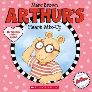 Arthur's Heart Mix-Up de Marc Brown