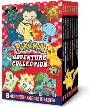 Adventure Collection (Pokémon Boxed Set #2: Books 9-16) de  Scholastic