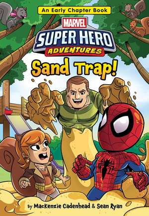 Marvel Super Hero Adventures Sand Trap!