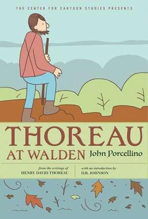 Thoreau At Walden imagine