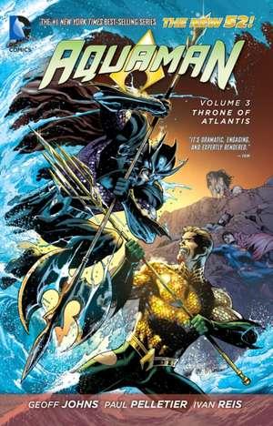 Throne of Atlantis:  Wrath of the First Lantern (the New 52) de GEOFF JOHNS