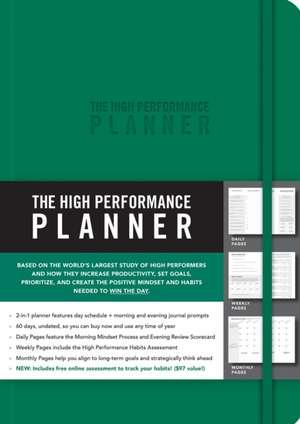 The High Performance Planner [Green] de Brendon Burchard