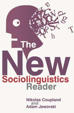 The New Sociolinguistics Reader imagine
