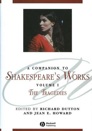 A Companion to Shakespeare′s Works, Volume I