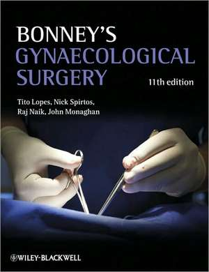 Bonney′s Gynaecological Surgery