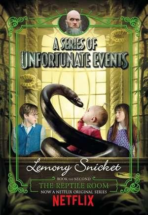 The Reptile Room. Netflix Tie-In de Lemony Snicket