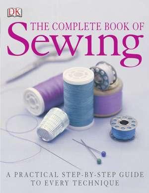 DK Complete Book of Sewing de DK