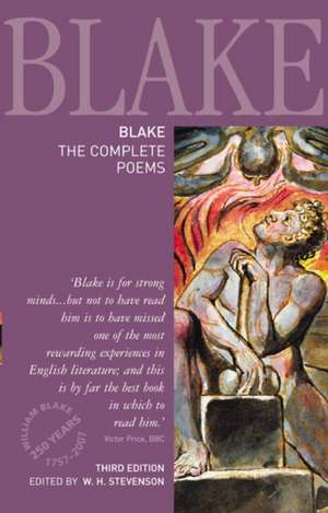 Blake, the Complete Poems