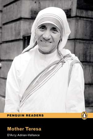 Level 1: Mother Teresa Book and CD Pack de D'Arcy Adrian-Vallance