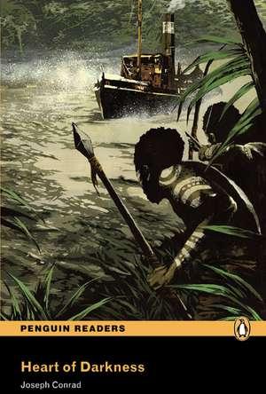 Heart of Darkness, Level 5, Penguin Readers:  His Life and Plays de Joseph Conrad
