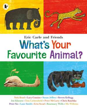 What's Your Favourite Animal? de Eric Carle