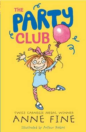 The Party Club de Anne Fine
