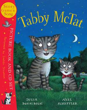 Tabby McTat. Book & CD