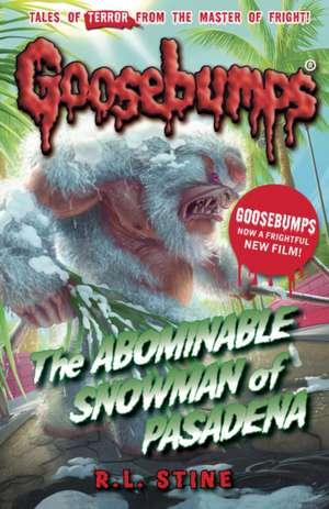 The Abominable Snowman of Pasadena de R. L. Stine
