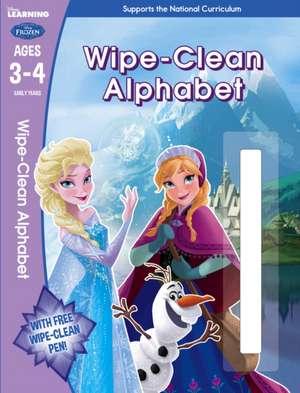 Frozen: Wipe-Clean Alphabet Ages 3-4