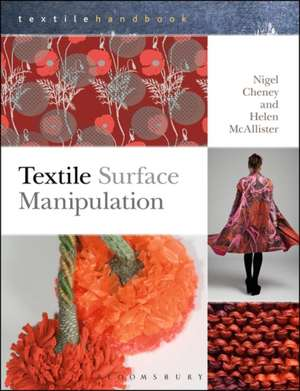 Textile Surface Manipulation de Nigel Cheney