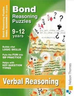 Adams, L: Bond Reasoning Puzzles - Verbal Reasoning