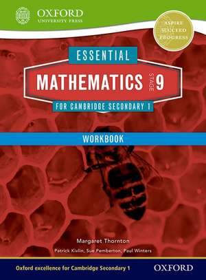 Essential Mathematics for Cambridge Lower Secondary Stage 9 Work Book de Margaret Thornton
