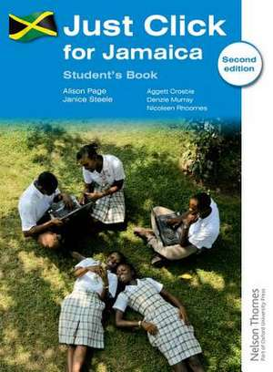 Just Click for Jamaica Student's Book de Alison Page