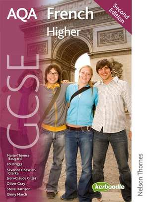 AQA GCSE French Higher Student Book