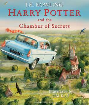 Harry Potter and the Chamber of Secrets, editia ilustrata
